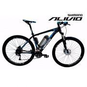 Bicicleta Elétrica 500 Wats Aro 29 Al. Bat. Litio Tecfalcon + Paralama