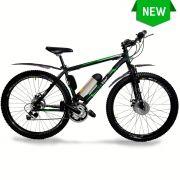Bicicleta Elétrica Aro 29 Alumínio Bateria de Litio TecUltra 3.0 com Paralamas