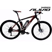 Bike Elétrica Aro 29 AL. BAT. de LÍTIO Tec-Falcon ALIVIO - 500w