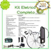 Kit Elétrico 500 W Bicicleta - Bateria Litio Para Freio Disco