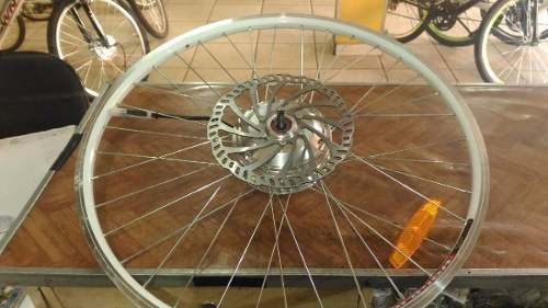 Kit Elétrico 350 W Bicicleta - Bateria Litio Para Freio Disco ou V Brake (Aro 26)