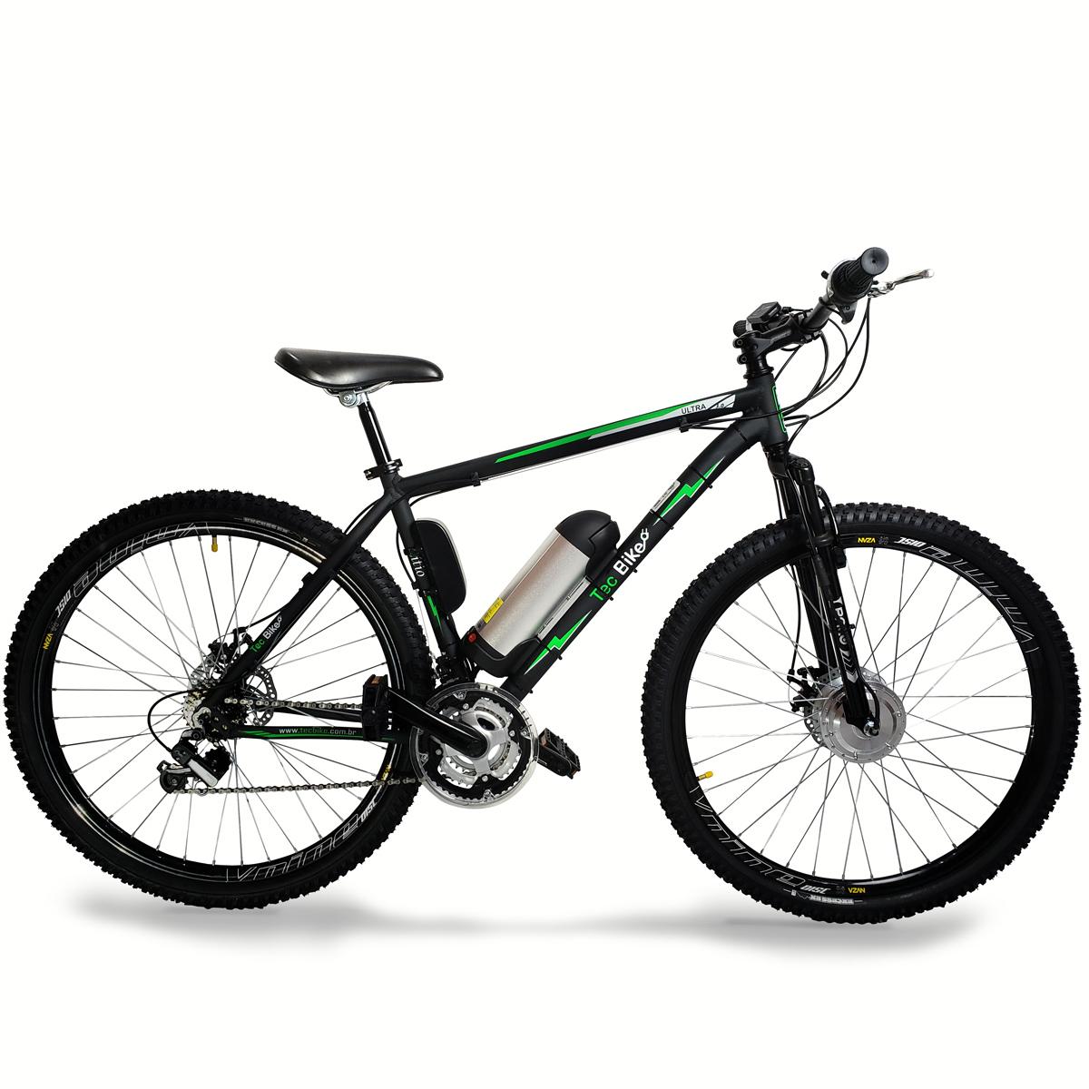 Bicicleta Elétrica Aro29 Bateria de LÍTIO TecUltra3.0 Freio Hidráulico- 500W