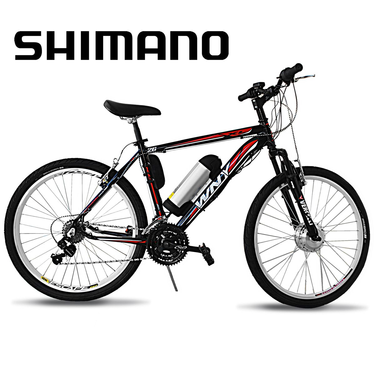 Bicicleta Elétrica Aro 26 Alumínio Bateria de LÍTIO TecUltra