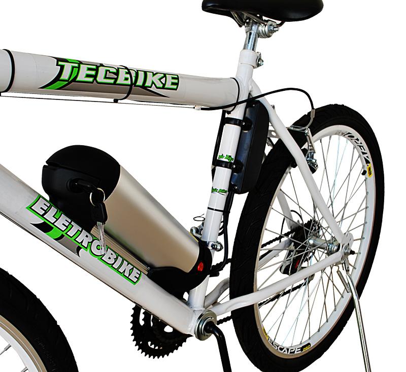 Bicicleta Elétrica Aro 26 BAT. de LITIO TecCity