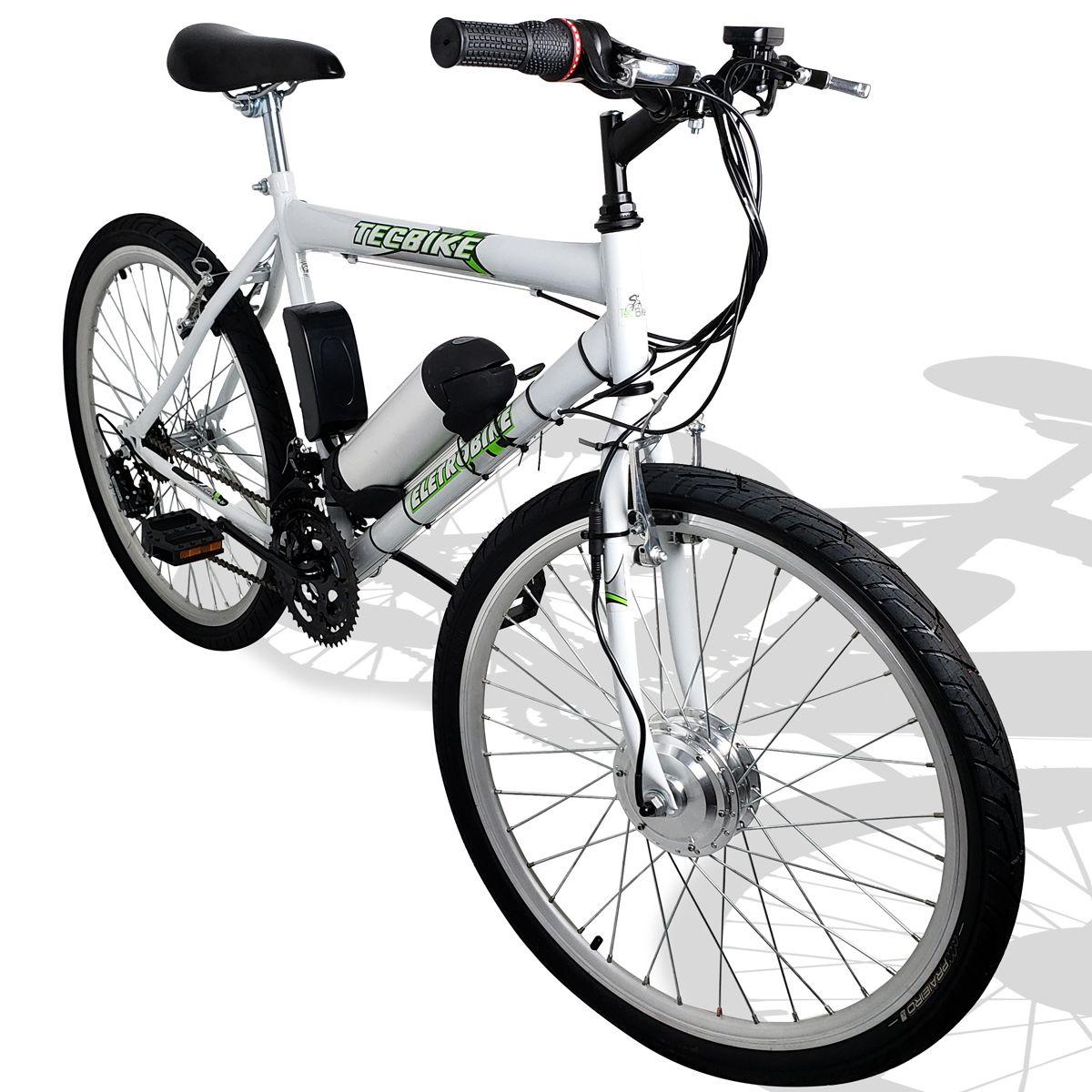 Bicicleta Elétrica Aro 26 Bateria de Litio TecCity