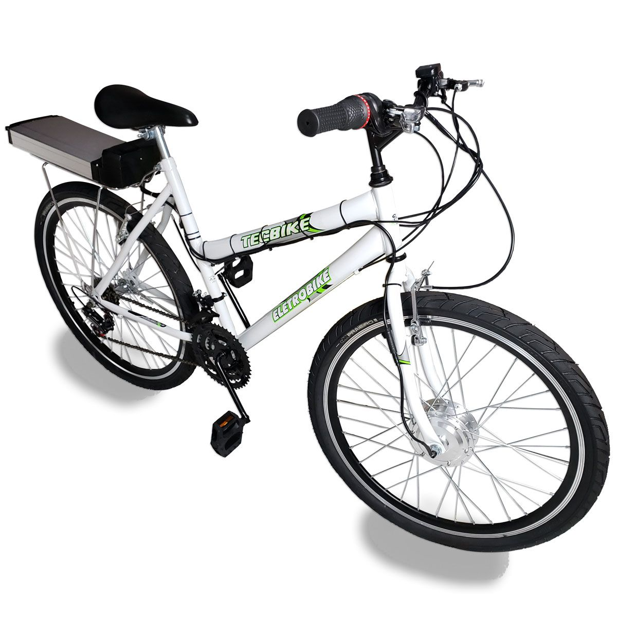 Bicicleta Elétrica Aro 26 BAT. de LITIO TecCity Cargo