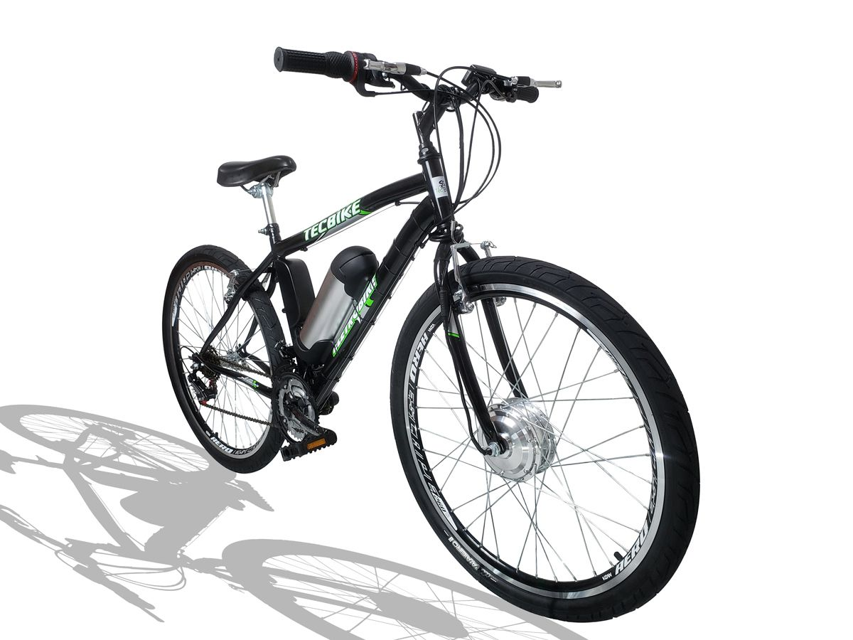 Bicicleta Elétrica Aro 26 BAT. de LITIO TecCity Pro