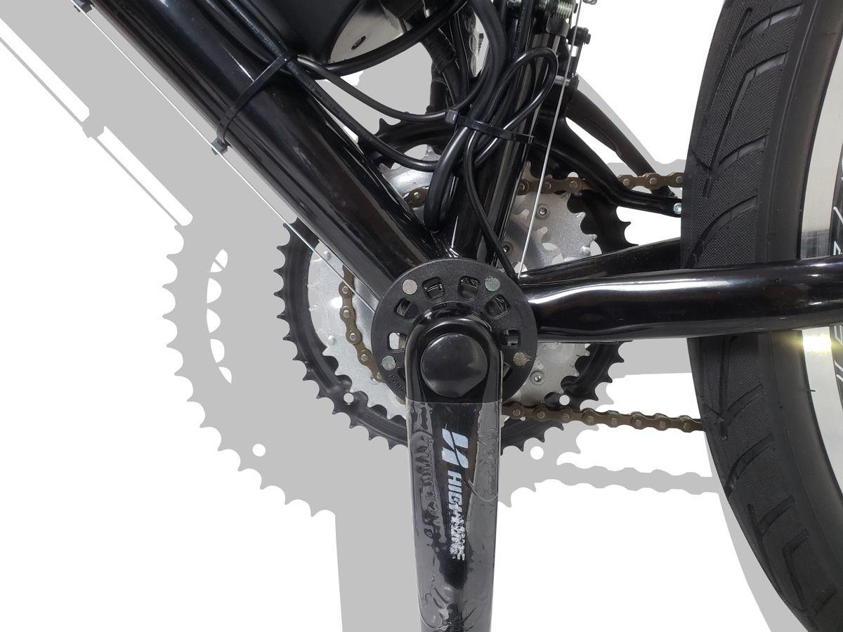 Bicicleta Elétrica Aro 26 Bateria de Litio TecCity Pro