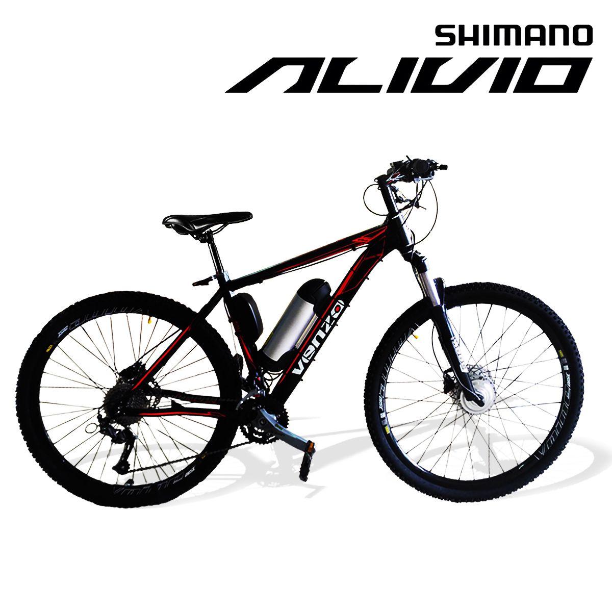 Bicicleta Elétrica Aro 29 Aluminio Bateria de Litio TecFalcon ALIVIO