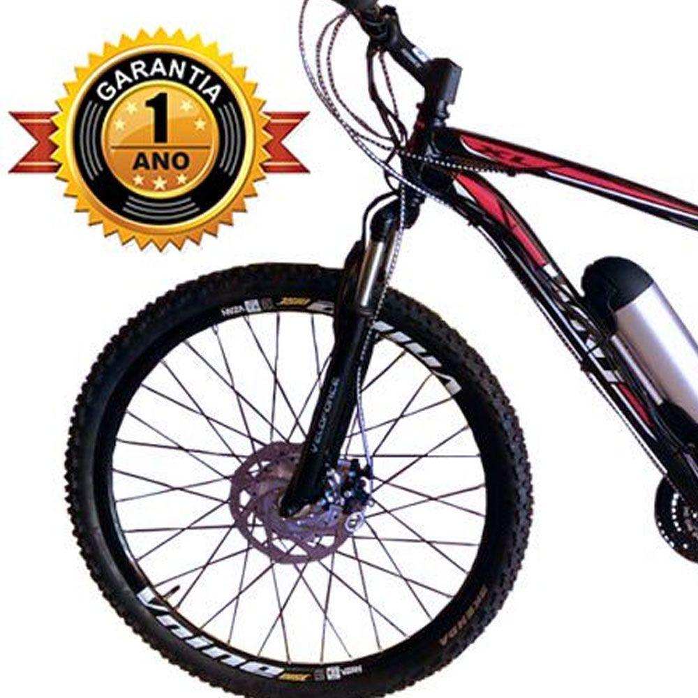 Bicicleta Elétrica Aro 29 AL. BAT. de LITIO TecUltra.