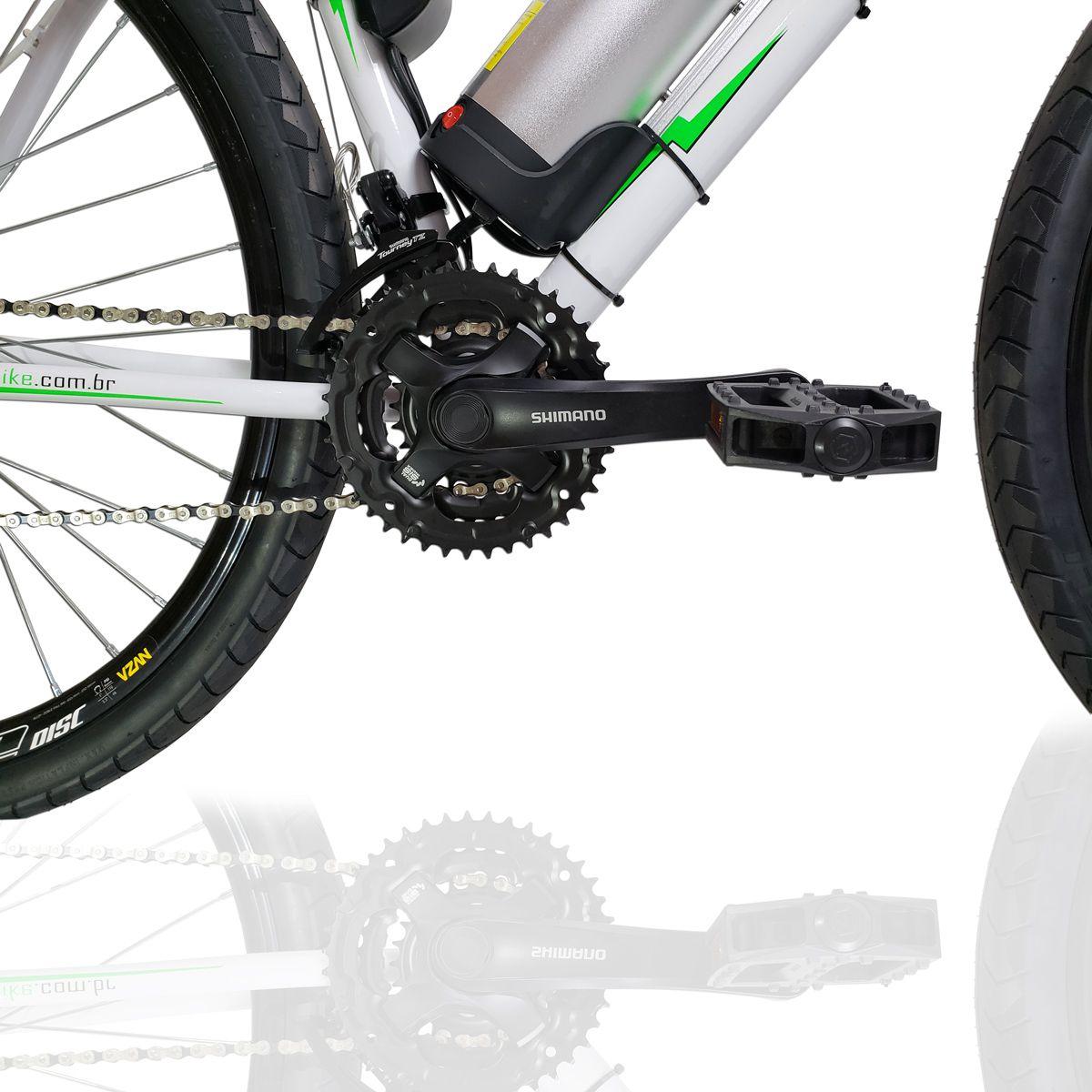 Bicicleta Elétrica Aro 29 Alumínio Bateria de Lítio TecUltra 3.0  - Freio Shimano Hidráulico