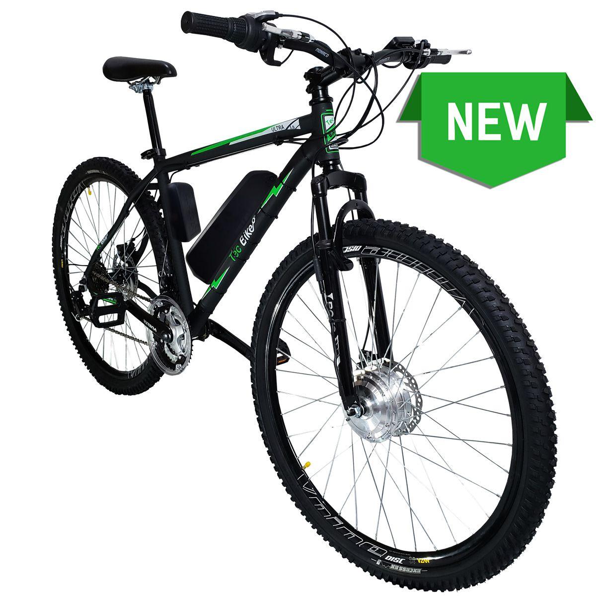 Bicicleta Elétrica Aro 29 Alumínio Bateria de Lítio TecUltra 3.0 - 500 Watts (Mesa Regulável)