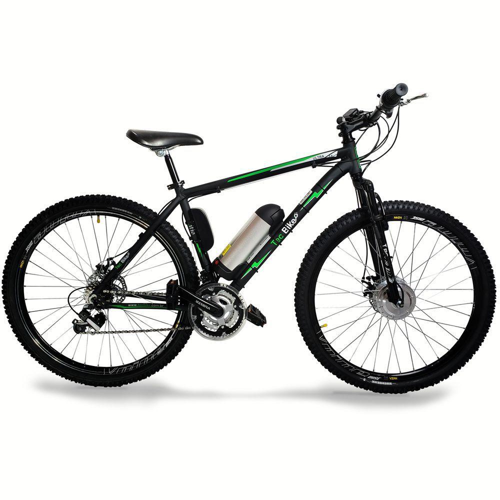 Bicicleta Elétrica Aro 29 AL. BAT. de LITIO TecUltra 3.0 - 500 Watts (Mesa Regulável)