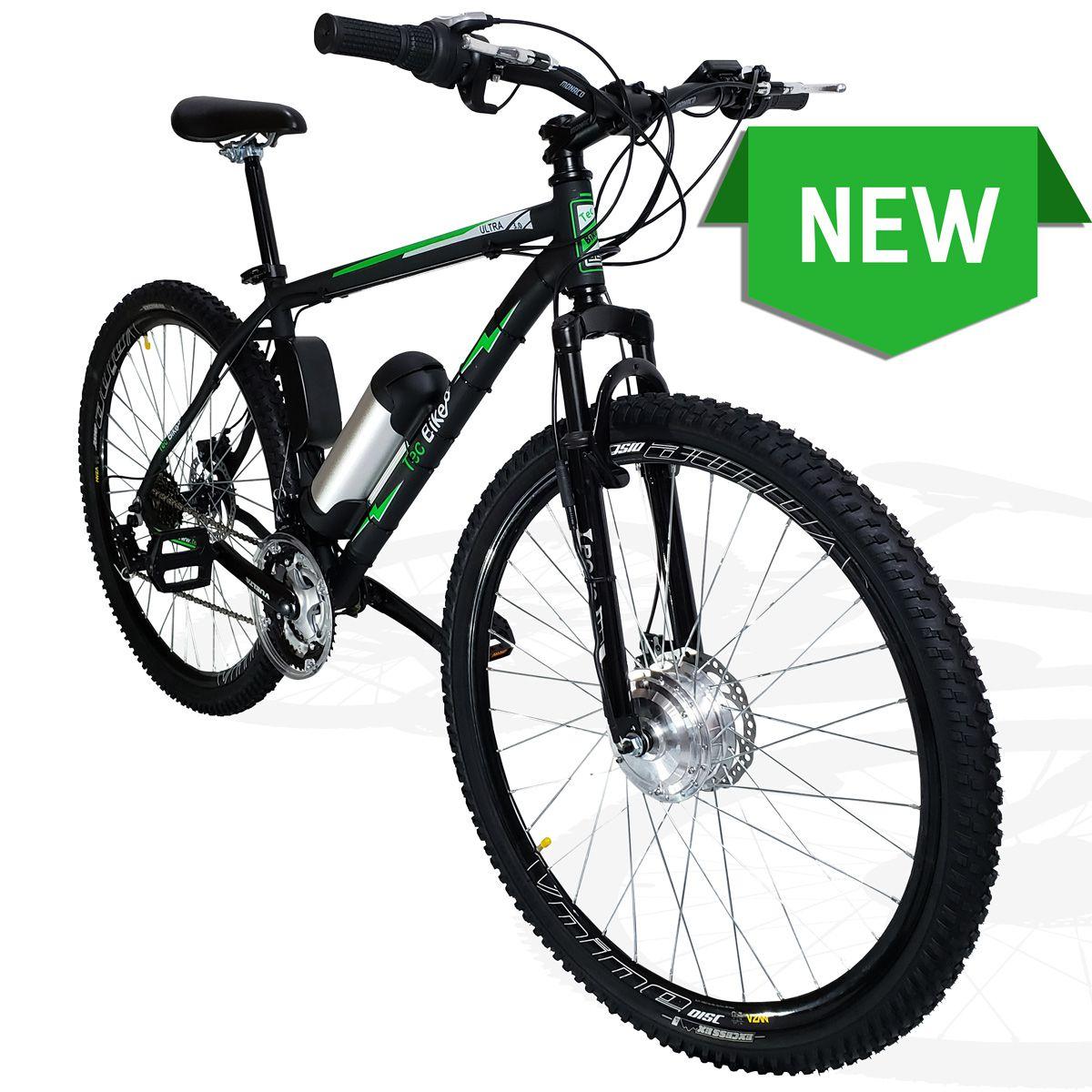Bicicleta Elétrica Aro 29 AL. BAT. de LITIO TecUltra 3.0 - Motor(Traseiro)