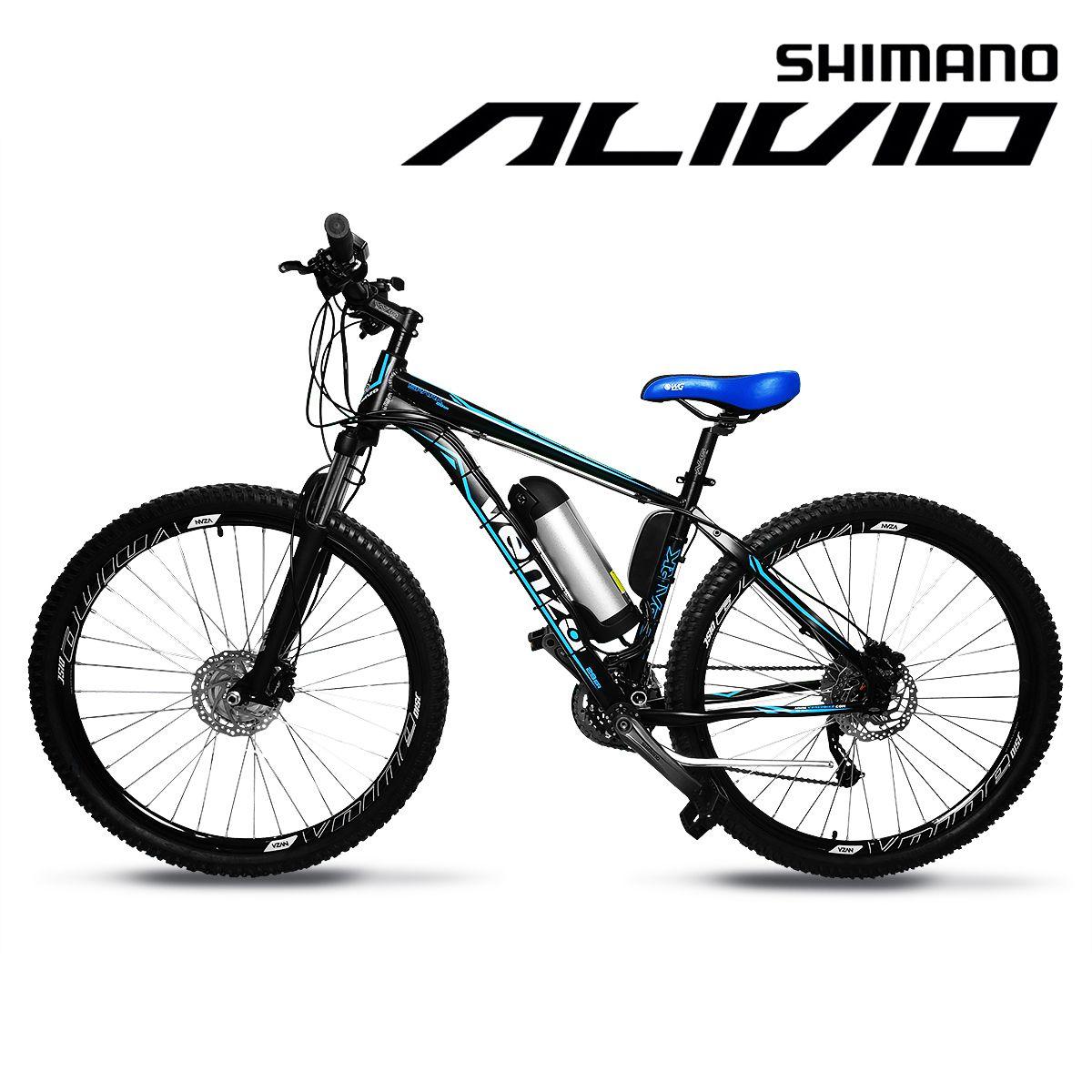 Bicicleta Elétrica Aro 29 Alumínio Bateria de Litio TecFalcon ALIVIO