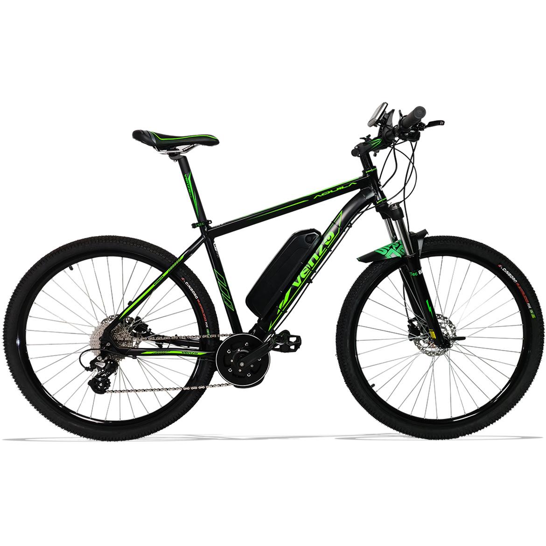 Bicicleta Elétrica Aro 29 Aluminio Bateria de Litio TecFalcon Central(Mid Drive)