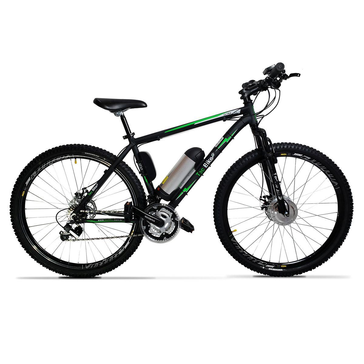 Bicicleta Elétrica Aro 29 Alumínio Bateria de Litio TecUltra 3.0