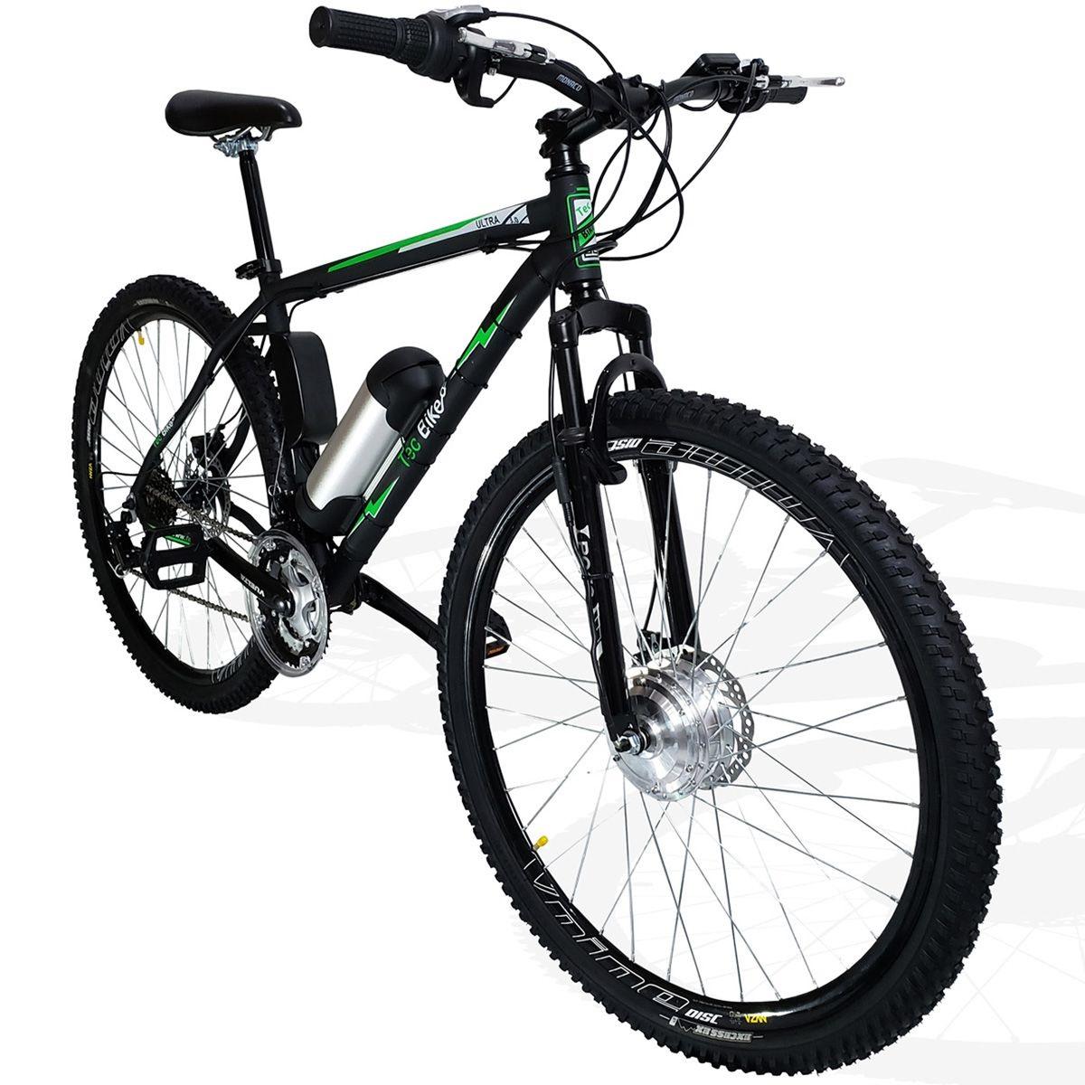 Bicicleta Elétrica Aro 29 Bateria Lítio TecUltra 3.0  -Freio Hidráulico