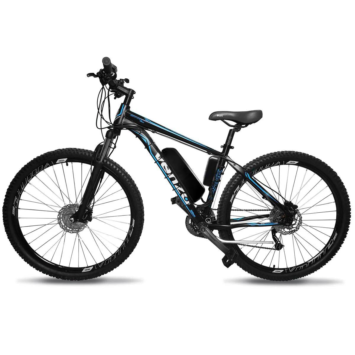 Bicicleta Elétrica Aro 29 Alumino Bateria de LÍTIO TecFalcon ALIVIO - 500 Watts