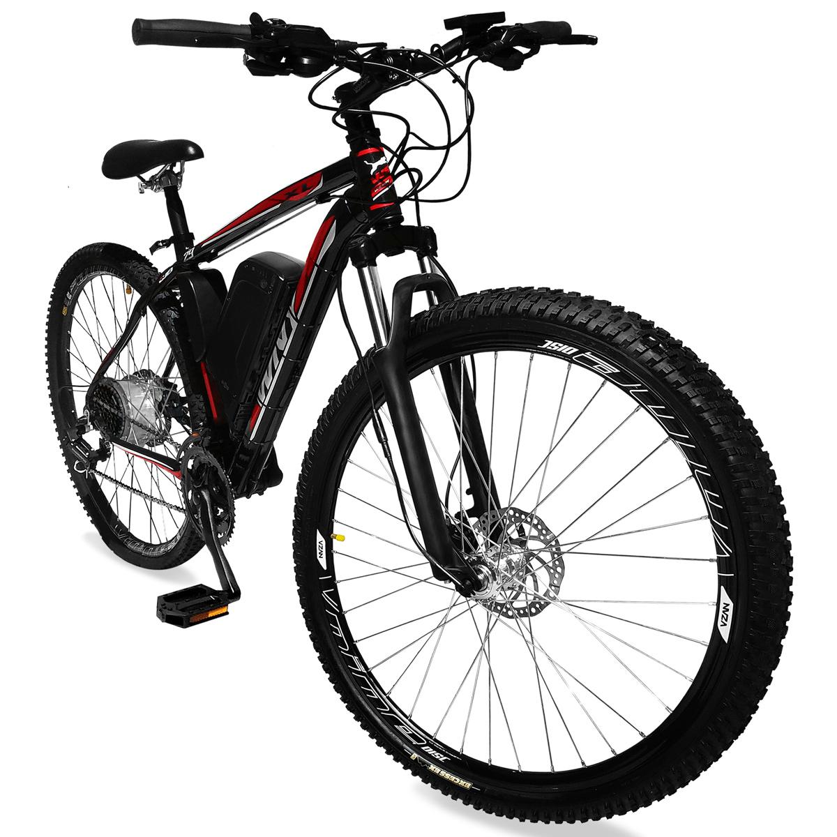 Bicicleta Elétrica Aro 29 Bateria de Lítio TecUltra 500 Watts - Freio Hidráulico