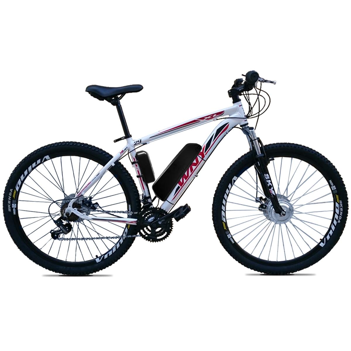 Bicicleta Elétrica Aro 29 Bateria de Lítio TecUltra 500W - Freio Hidráulico