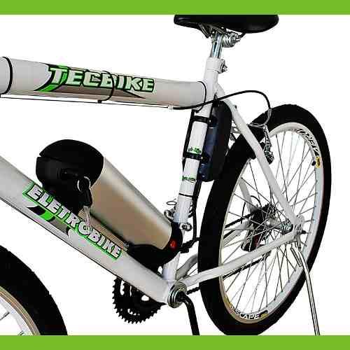 Bike Elétrica Aro 26 BAT. de LITIO Tec-City 500w