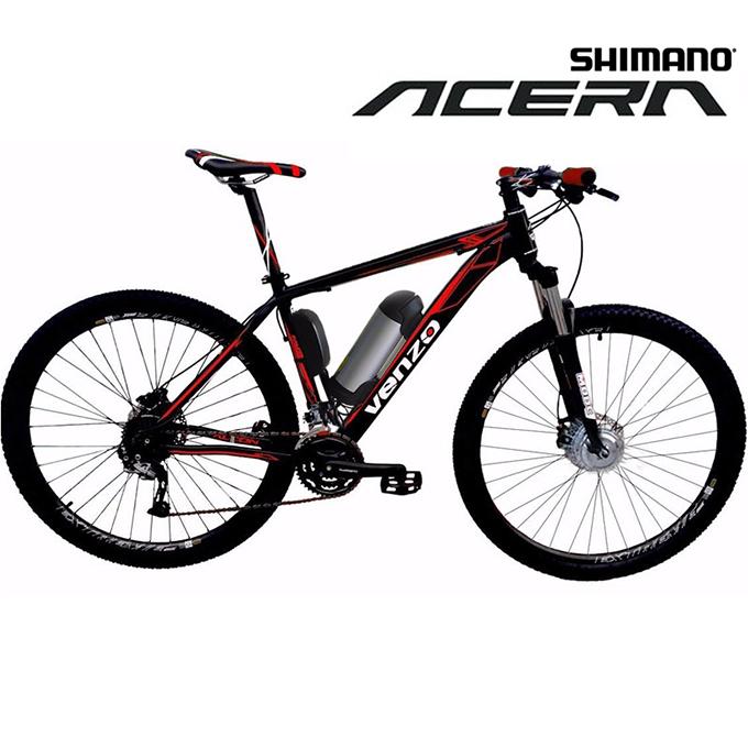 Bike Elétrica Aro 29 AL. BAT. de LÍTIO Tec-Falcon - 500