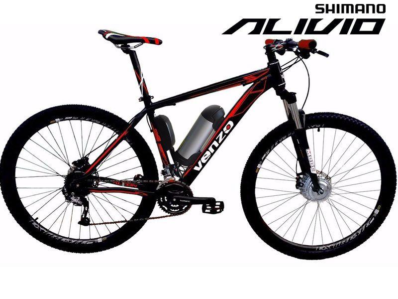 Bike Elétrica Aro 29 AL. BAT. de LITIO Tec-Falcon ALIVIO - 500w