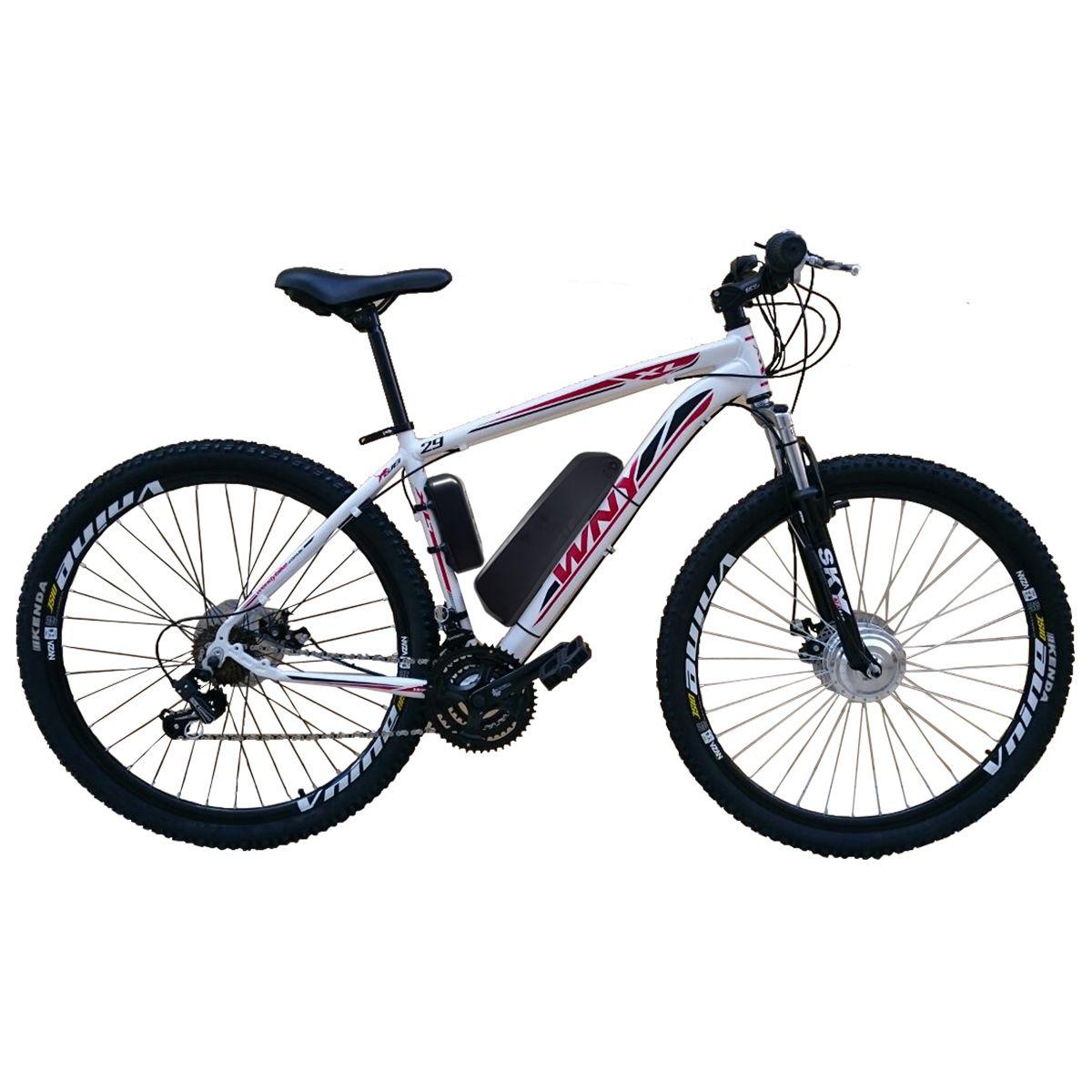 Bicicleta Elétrica Aro 29 Alumínio Bateria de LITIO TecUltra - 500 watts