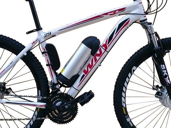 Bike Elétrica Aro 29 AL. BAT. de LITIO Tec-Ultra - 500w