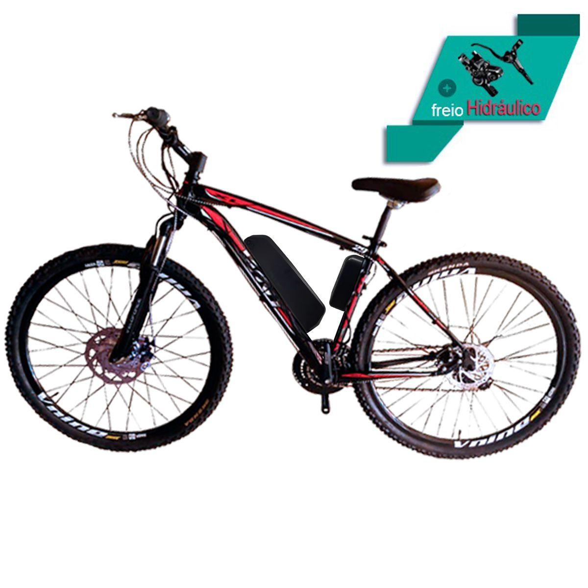 Bicicleta Elétrica Aro 29 Alumínio Bateria de Litio TecUltra 500 watts