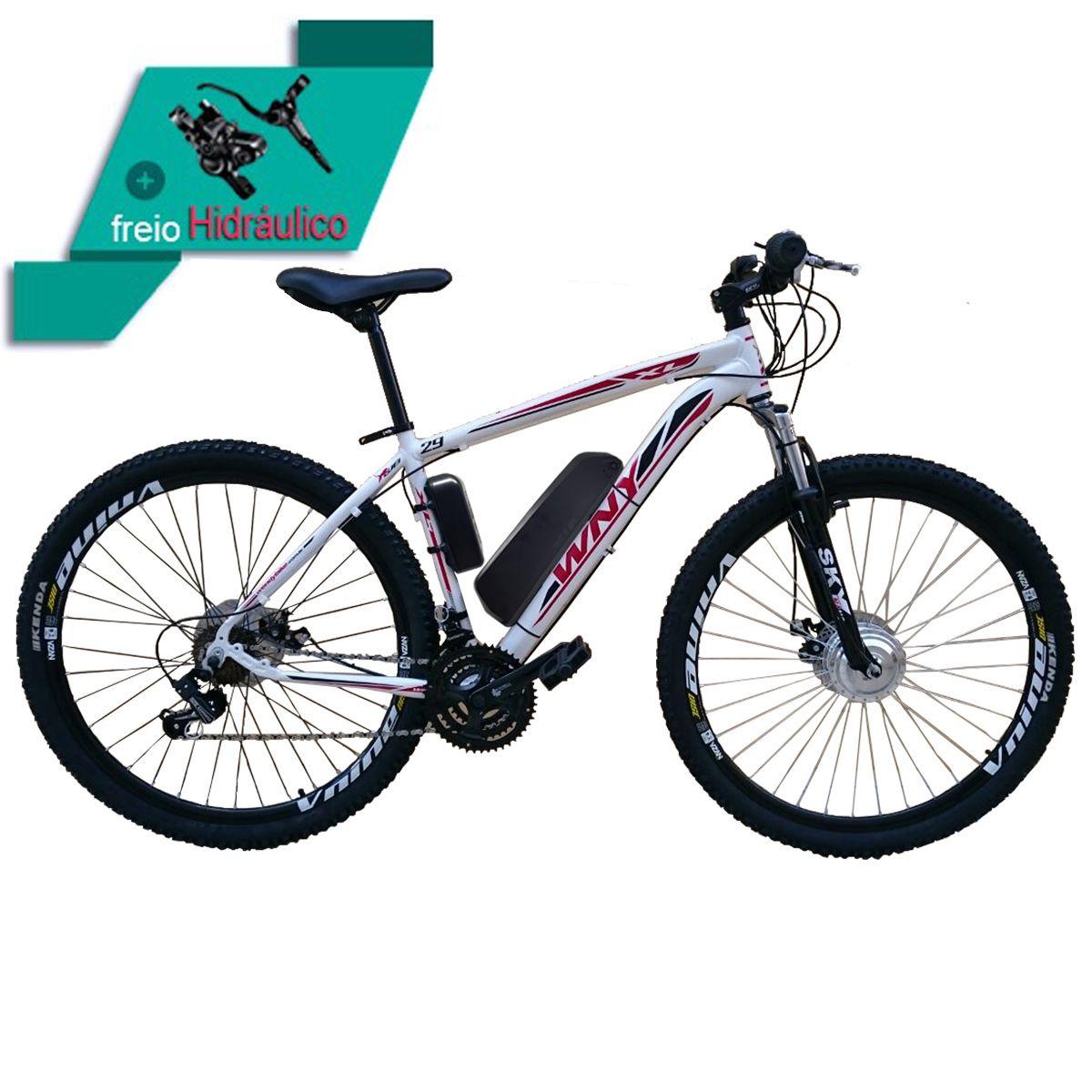 Bicicletas Elétrica Aro 29 Aluminio Bateria de Litio TecUltra - 500 watts