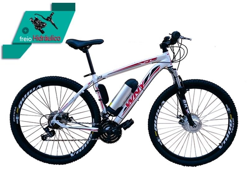 Bike Elétrica Aro 29 AL. BAT. de LITIO Tec-Ultra. - 500w
