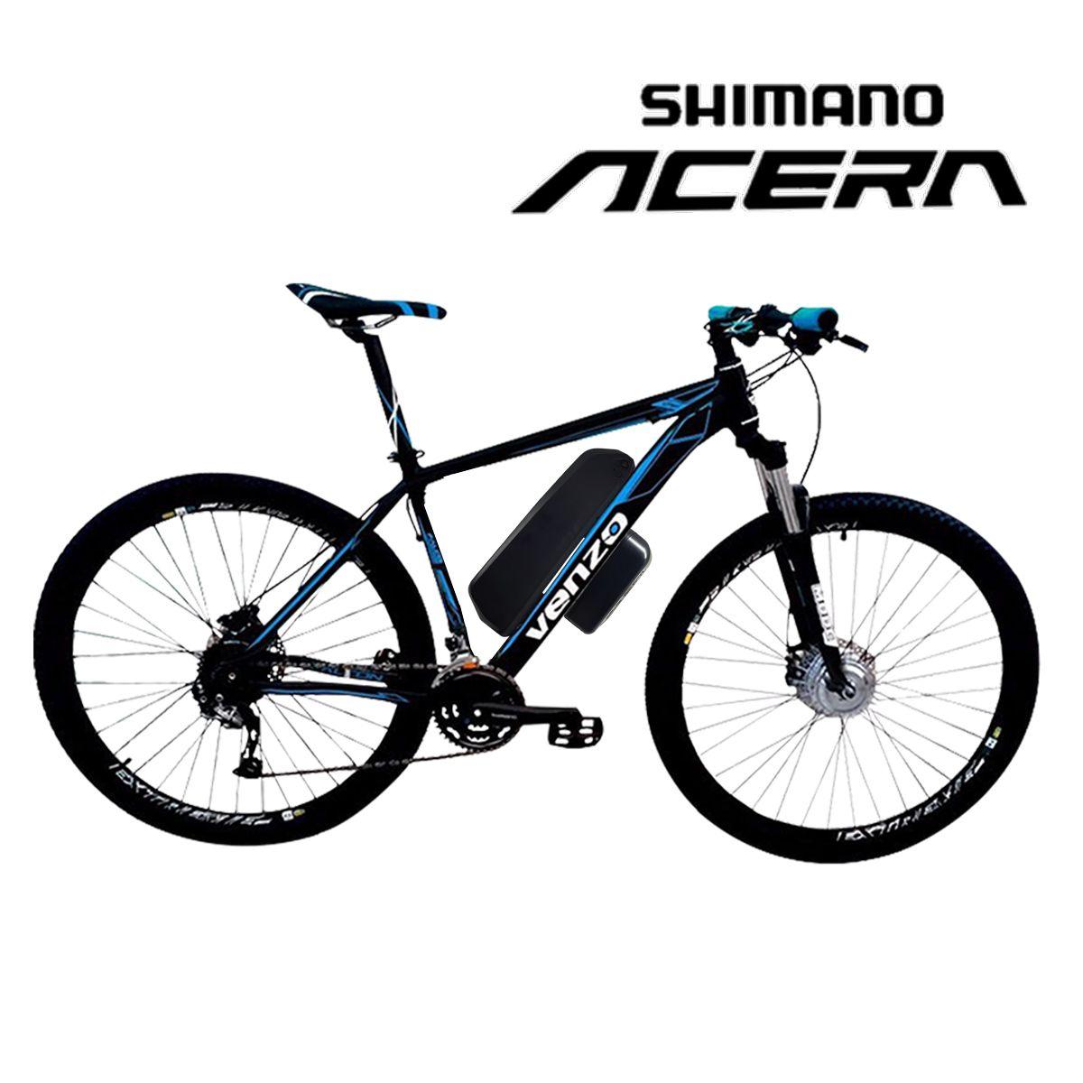Bike Elétrica Aro 29 AL. BAT. de LÍTIO TecFalcon ACERA - 500W