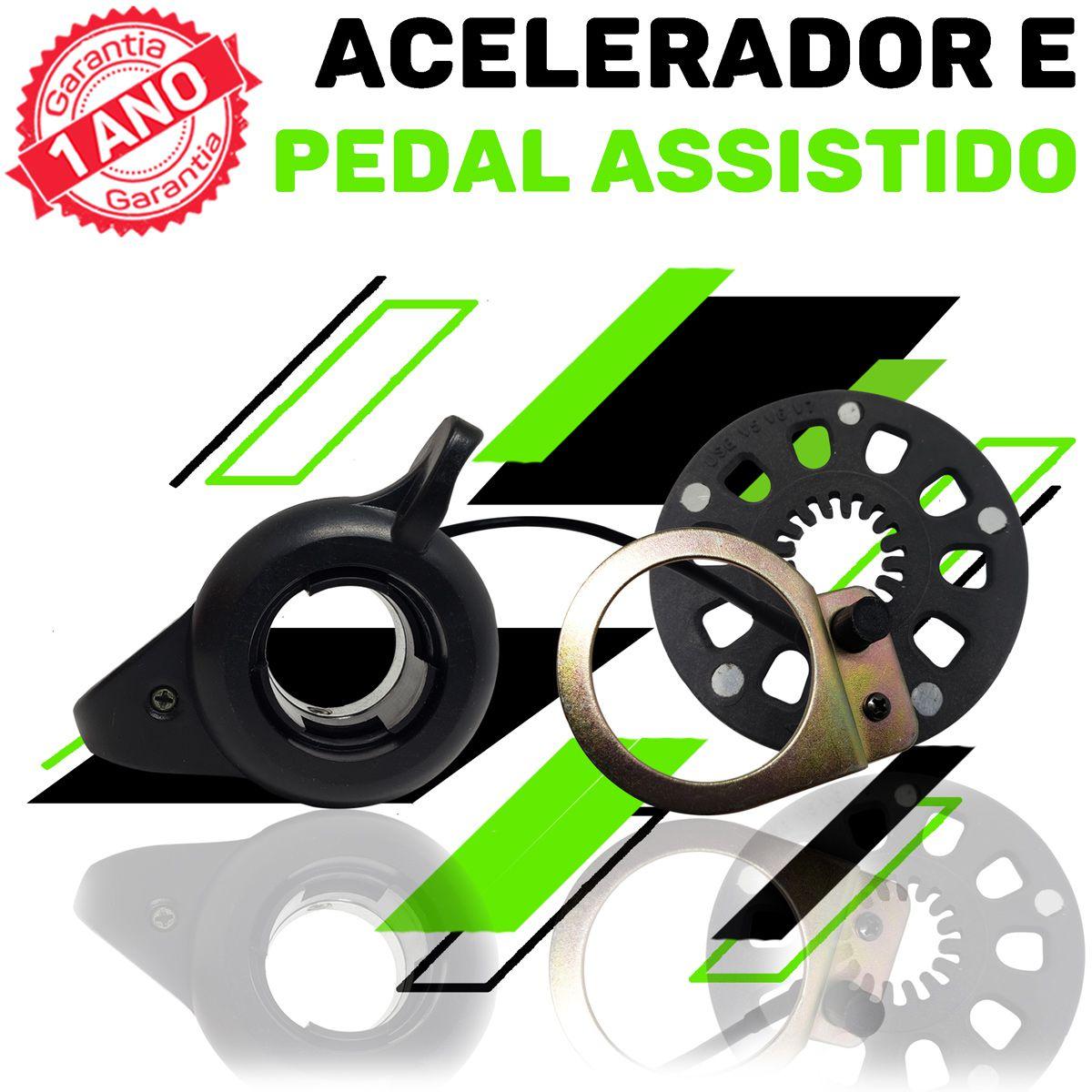 Kit Elétrico para Bicicleta - TecBike - Bateria Cilíndrica - 350 Watts 36V - Aro 700