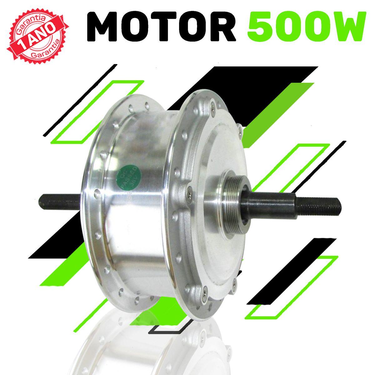 Kit Elétrico para Bicicleta - TecBike - Bateria Preta - 500 Watts 36V - Aro 29