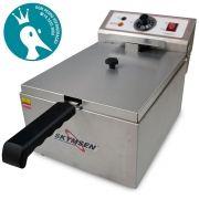 Fritadeira Elétrica Industrial Skymsen FE-10-N - 5L Inox