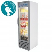 Geladeira Visa Cooler Slim 370L Porta de Vidro Duplo - Polofrio