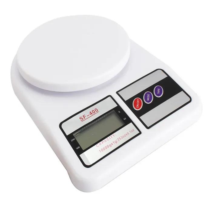 Balança Digital Cozinha 10kg de Precisão SF 400 - 123 Útil