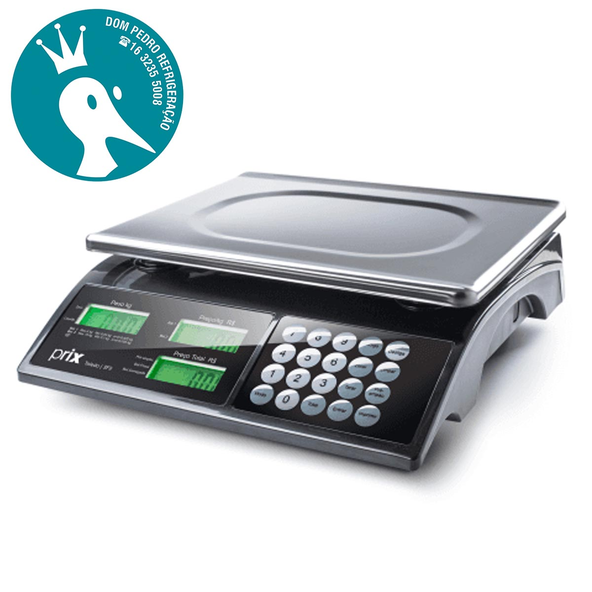 Balança Eletrônica Digital Computadora - Prix3 Fit - Bateria - Toledo