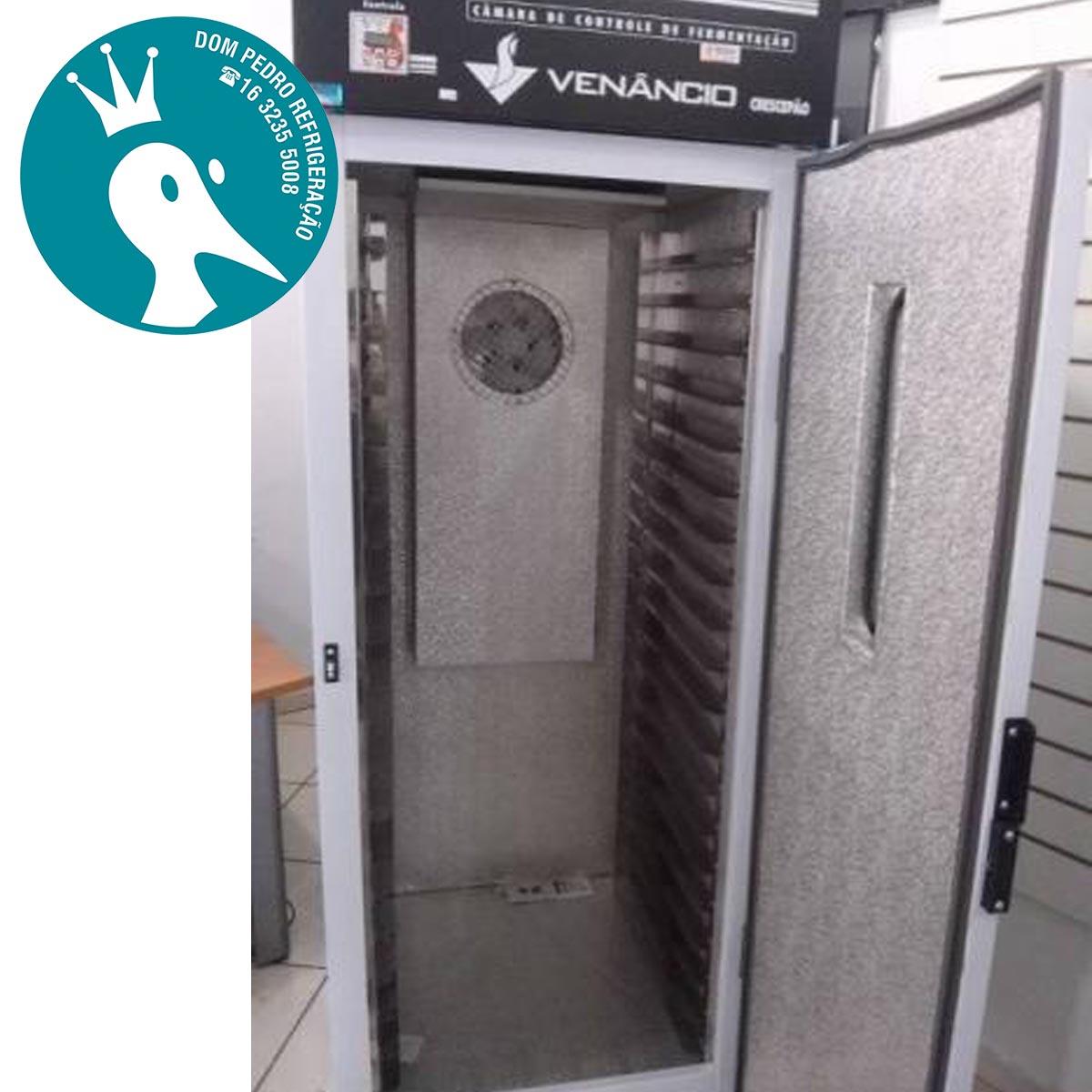 Câmara Climática para 500 Pães Dupla Função - Venâncio 220V