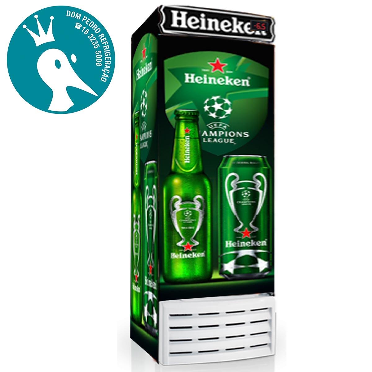 Cervejeira 520 Litros 8 caixas garrafas 600ml CV520R - Esmaltec