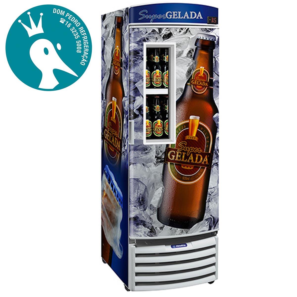 Cervejeira Metalfrio VN44F 434 Litros com Visor - 2 Anos de Garantia