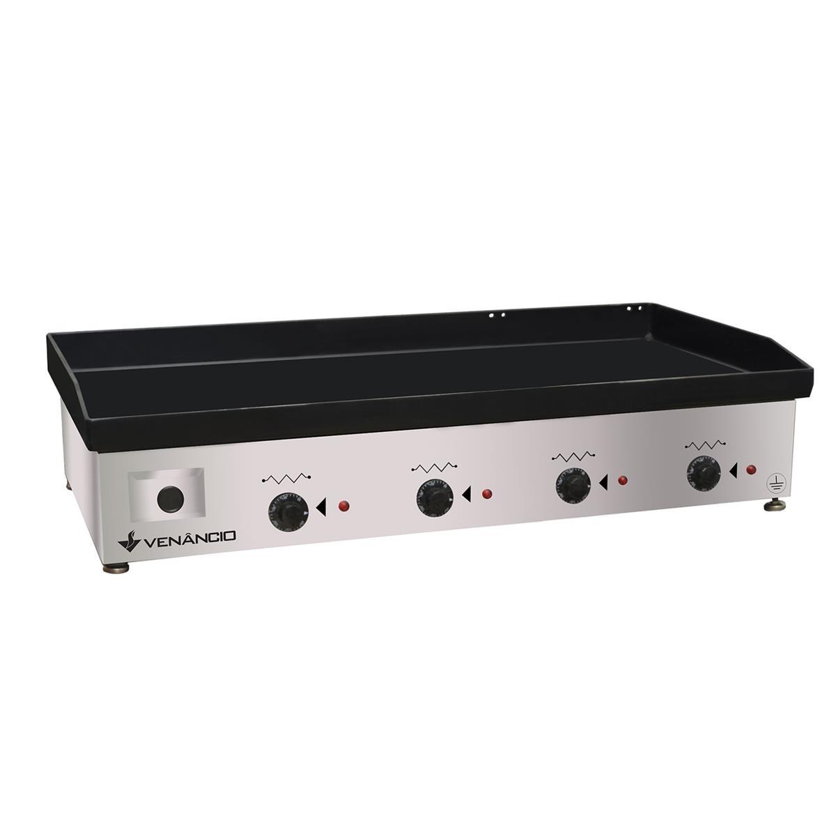 Chapa Elétrica Inox 220v CE100 - Venâncio