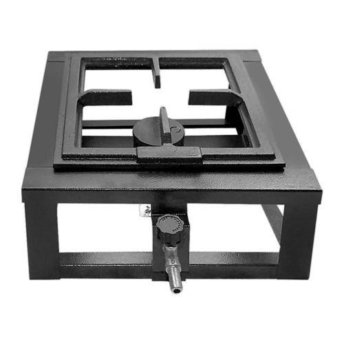 Fogão Industrial de Mesa 1 Boca 20x20 Alta Pressão - MR Fogões