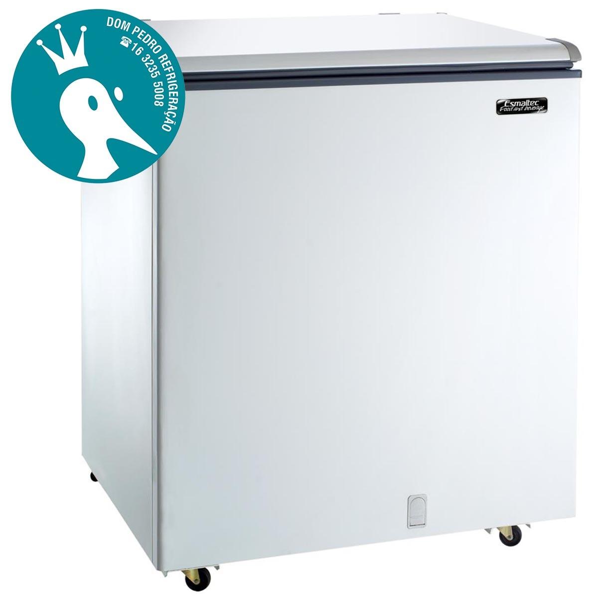 Freezer Horizontal 1 Porta Cega Esmaltec 239L - EFH 250