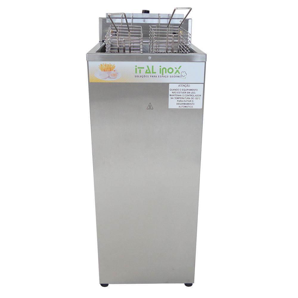 Fritadeira Elétrica Água e Óleo 18 Litros FAOCI18 220v - Ital Inox