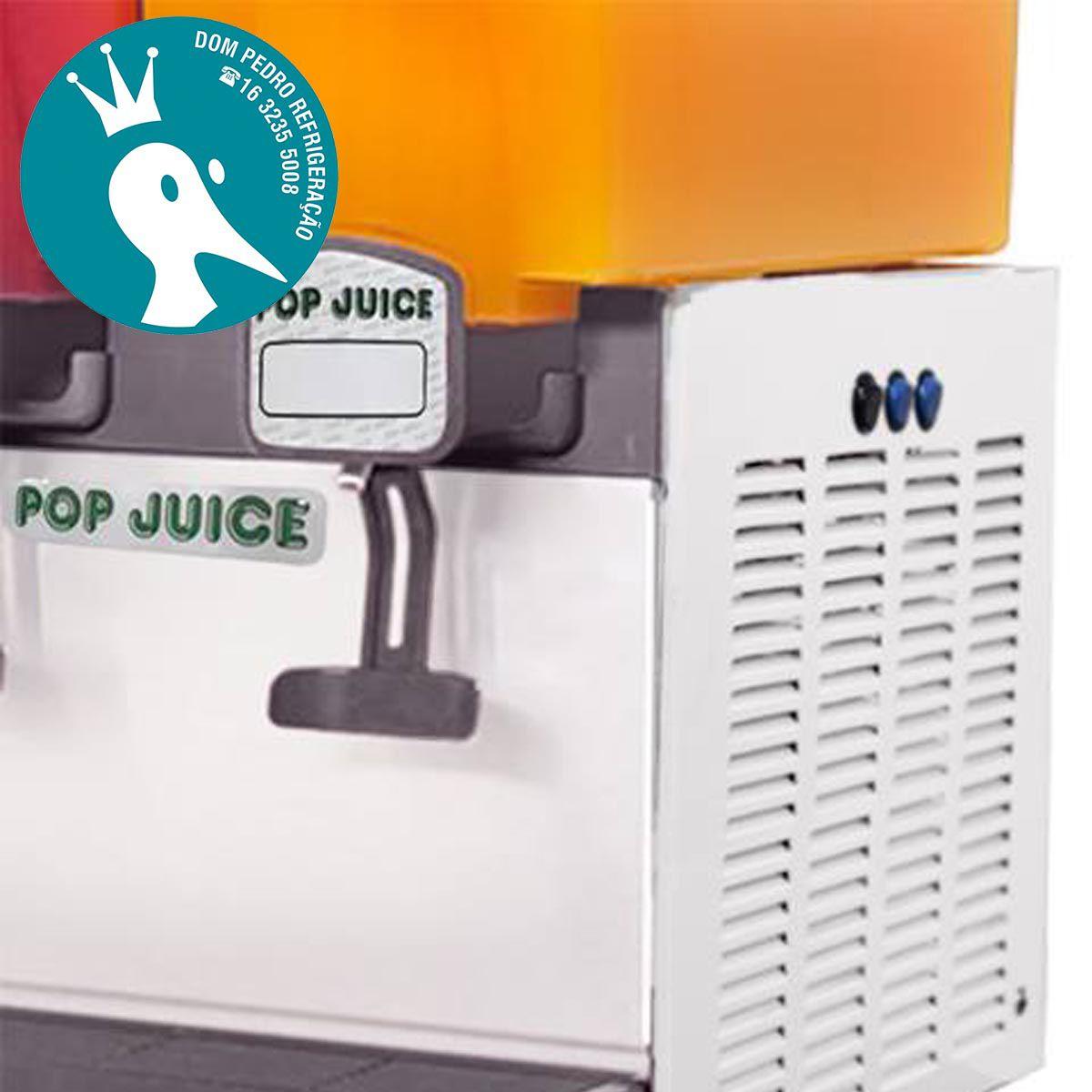 Refresqueira Pop Juice com 2 Depósitos de 15 Litros 127V - Reubly