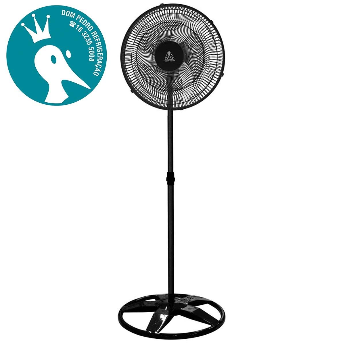 Ventilador de Coluna Premium Preto 50cm Bivolt - Venti Delta