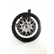 Pneu - Modelo Roda-automotiva Cromado (100 peças)